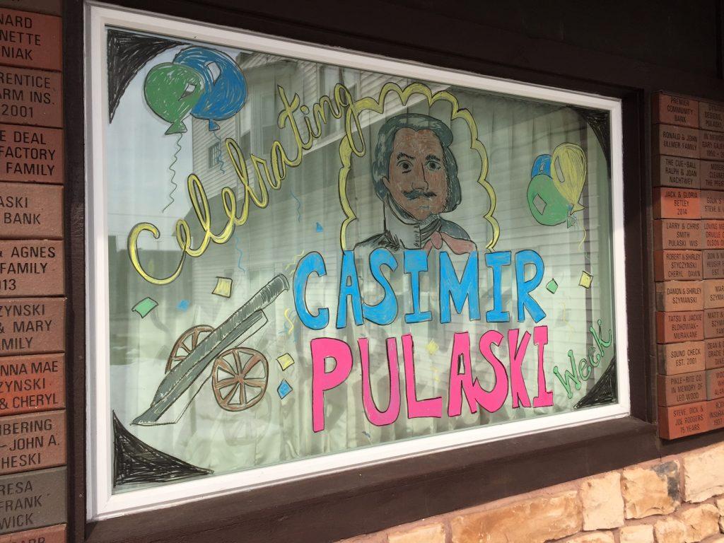 Casimir Pulaski Days Window Decorating Contest