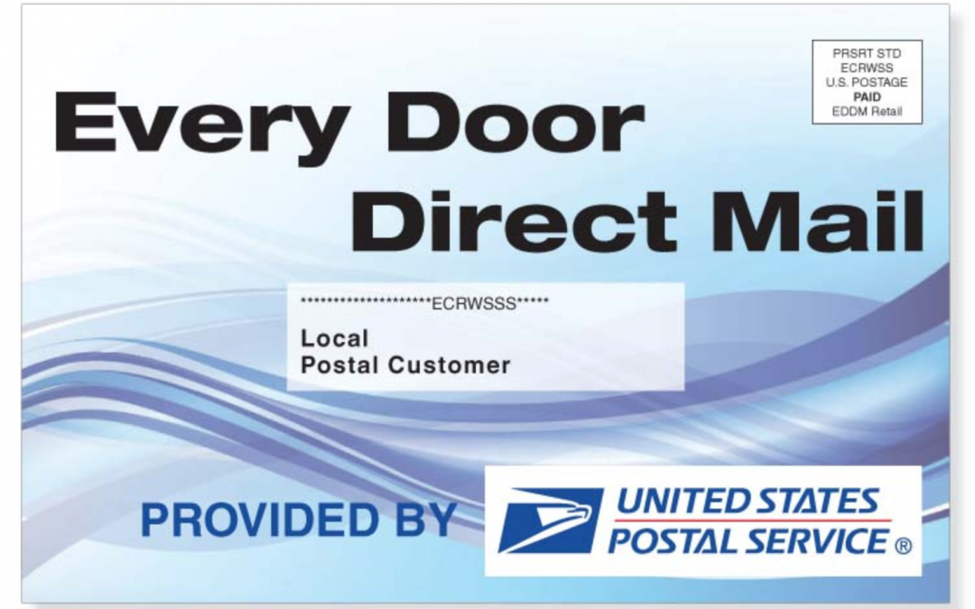 Business Opportunity for an Every Door Direct Mailer (EDDM) coming soon!